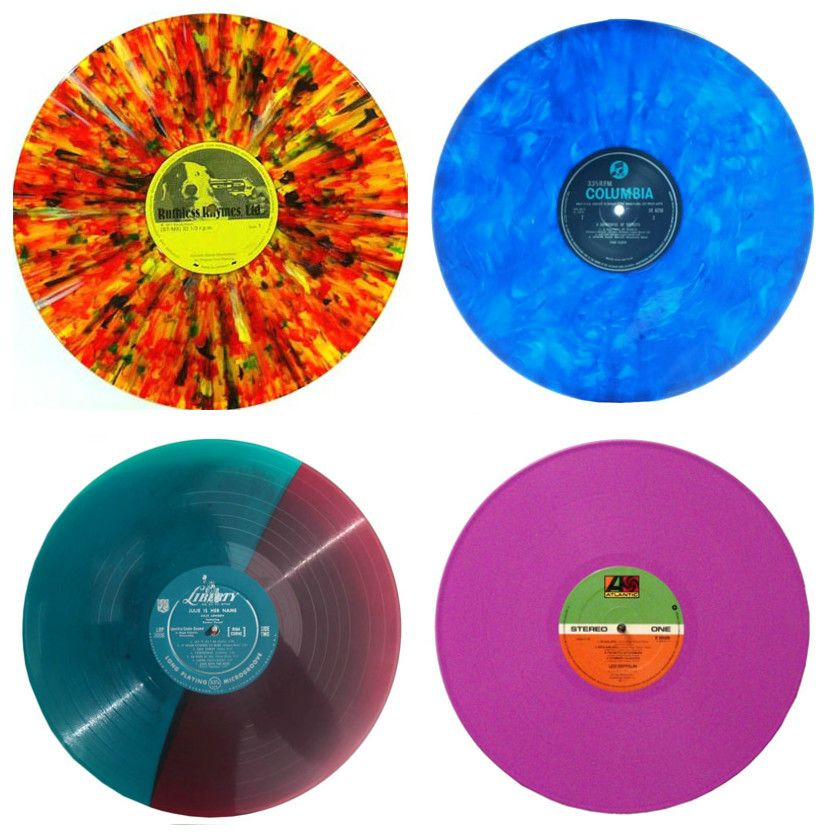 Colored Vinyl Records Are Popular With Collectors Vinyl Record Crafts Vinyl Record Shop Vinyl