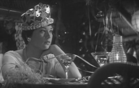 New Year's Eve scene from The Apartment with Shirley Maclaine, 1960.