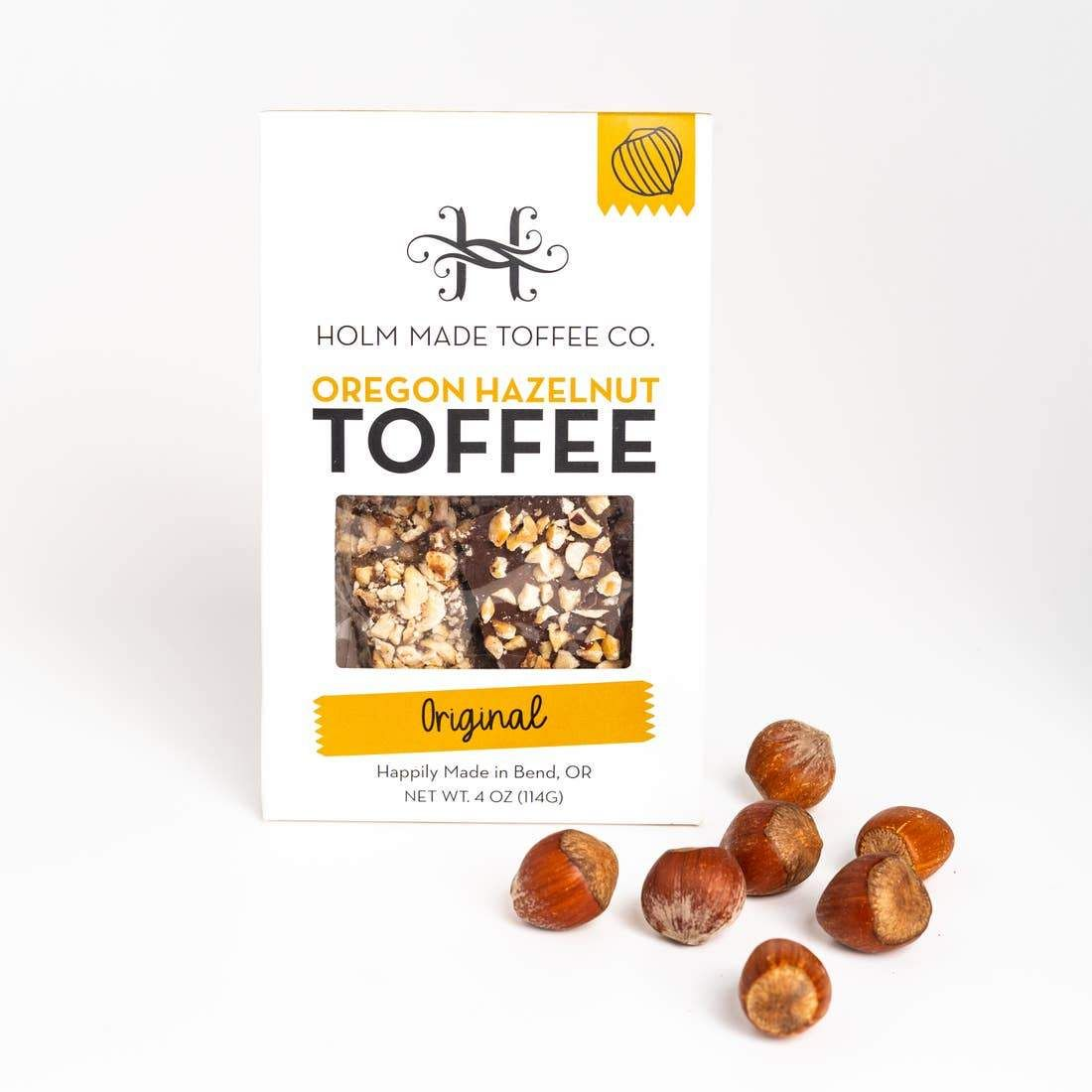 Photo of Original – Oregon Hazelnut Toffee
