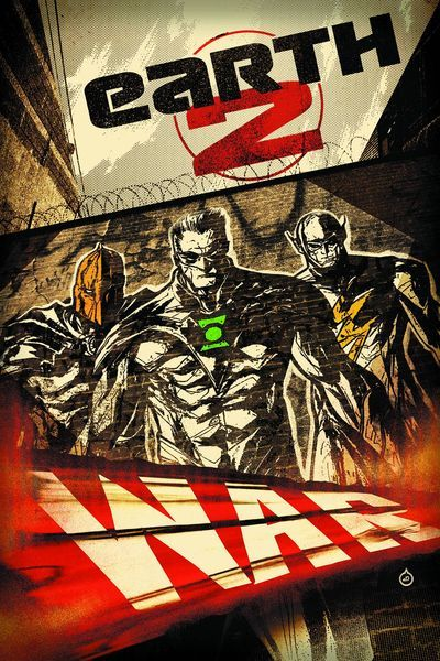 Earth 2 - Battle Cry. The Wonders Green Lantern, Flash, and Dr. Fate decide to invade Dherain ahead of the World Army.