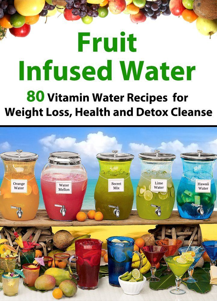 vitamin water for diets and weight loss