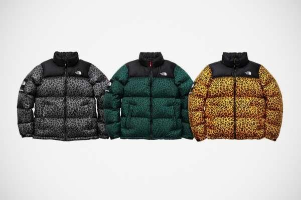 e725a4008 Animalistic Bubble Jackets | cheetah sistas !!!! | North face coat ...