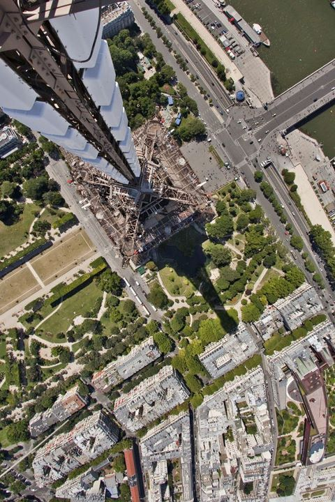 Eiffel Tower as never seen before