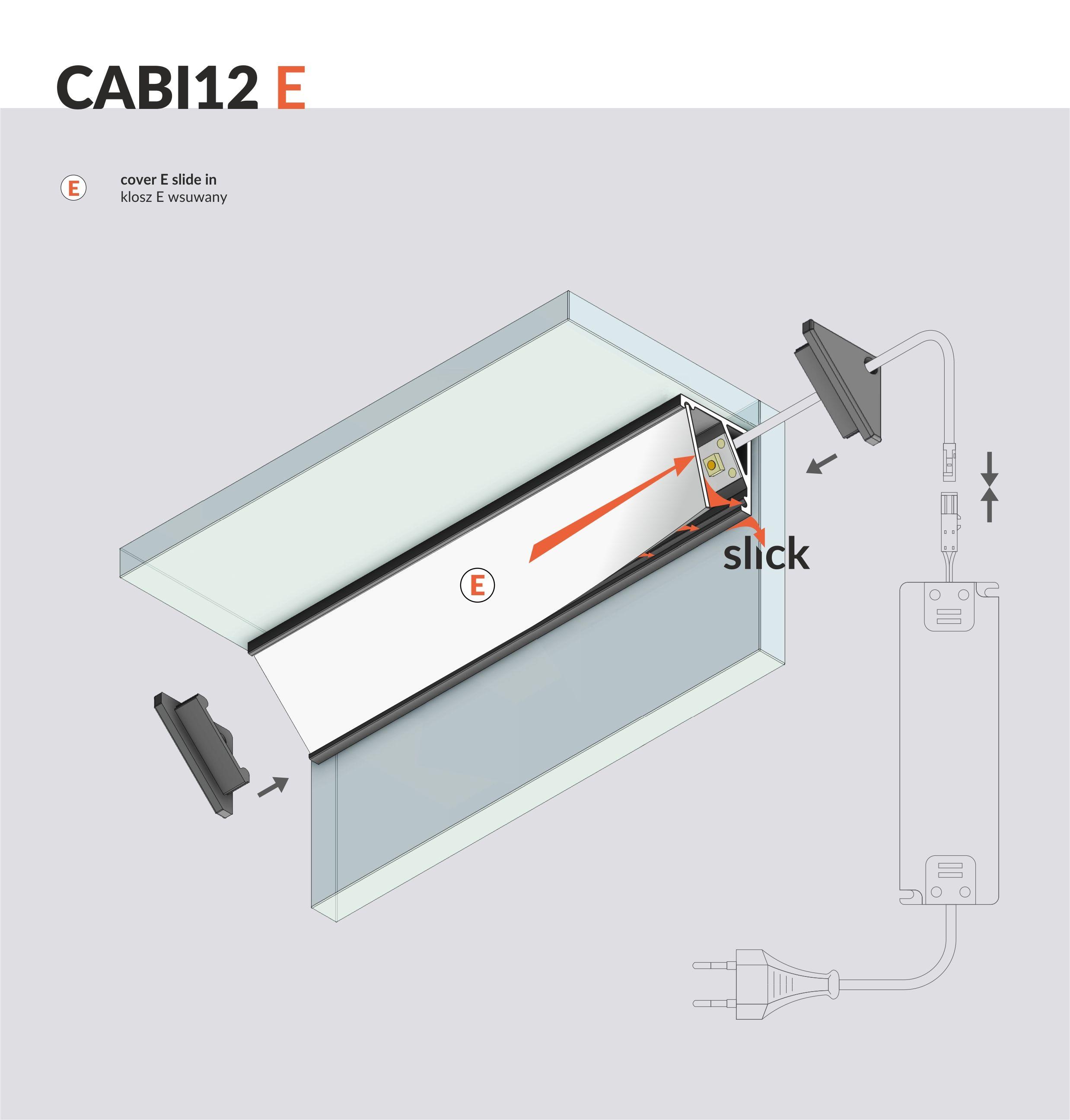 Cabi12 led profile angular profile made of anodized aluminum cabi12 led profile angular profile made of anodized aluminum applications show cases solutioingenieria Images