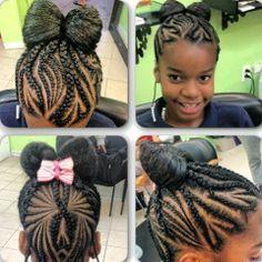 Enjoyable Black Girl Braids Girls Braids And Hair On Pinterest Short Hairstyles For Black Women Fulllsitofus