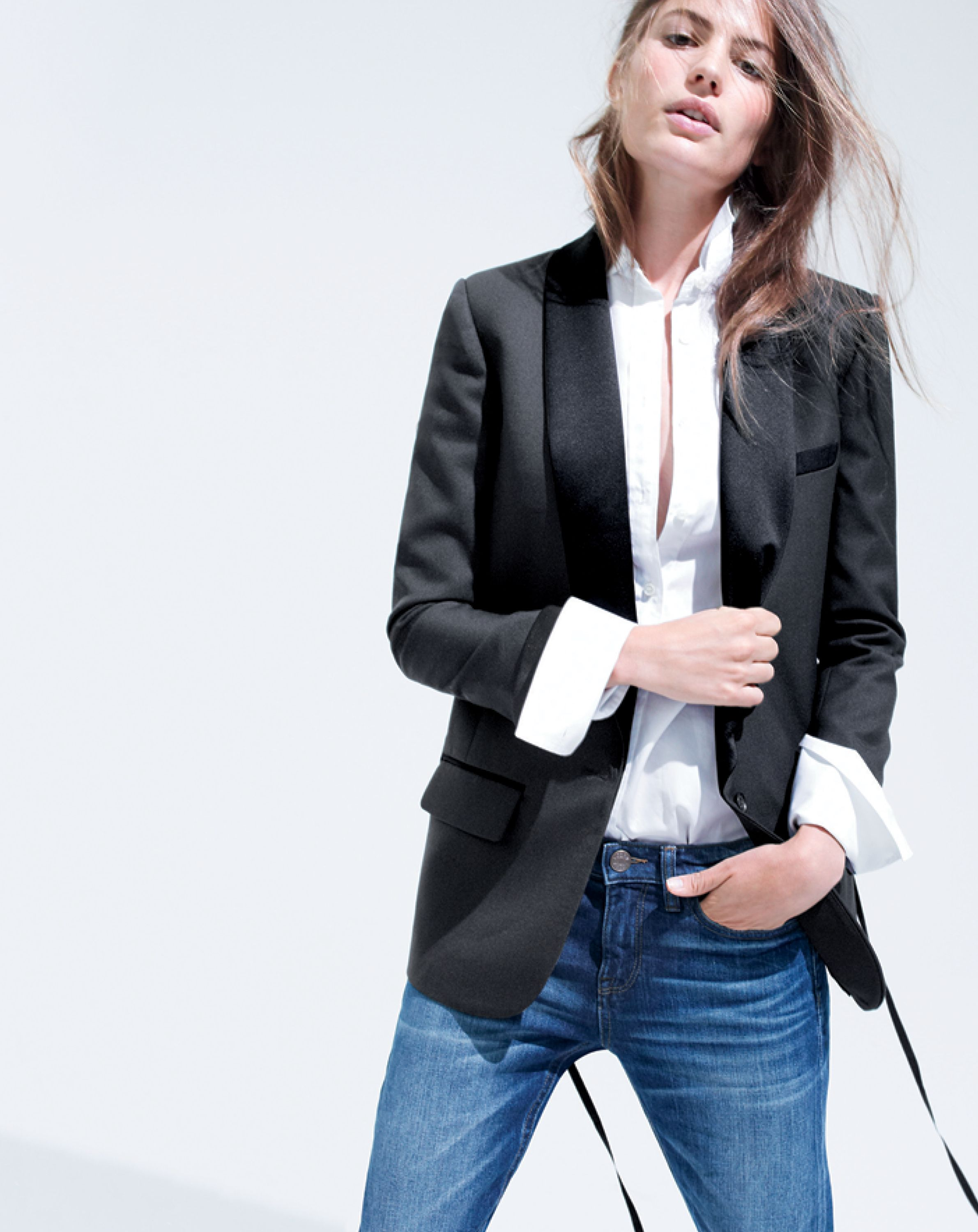 d43b5ab5a91d4 J.Crew women s Collection shawl-collar tuxedo blazer. To preorder call 800  261 7422 or email verypersonalstylist jcrew.com.
