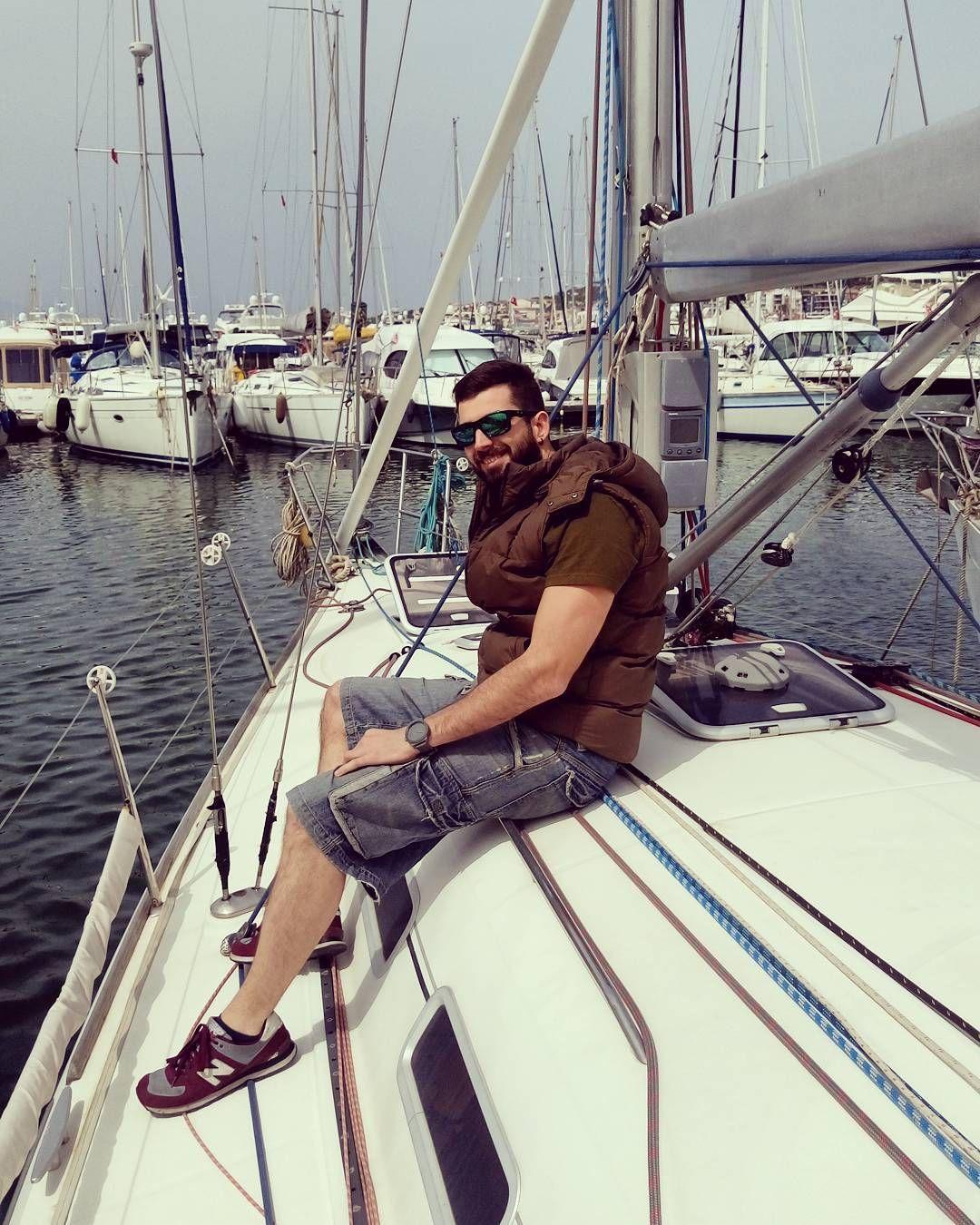 Let's go.. #sail #sailor #sailboat #sailboating #wind #sea #season #photooftheday #instalike #instasky #instasea #likeme #likeforlike #likemenow #like4like  #vsphoto #instacool #skyporn #instadaily #cute #windyday #sun #instafire #life #cesme #wild #young #free by yigitcankesova