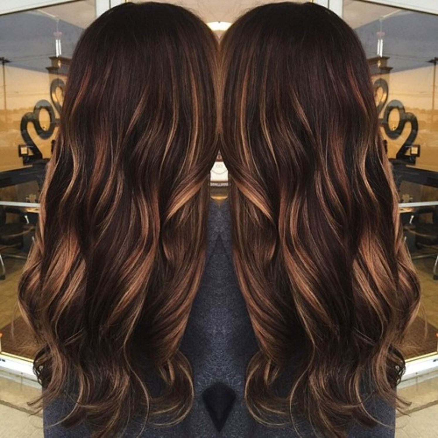 60 Chocolate Brown Hair Color Ideas For Brunettes Mocha Hair