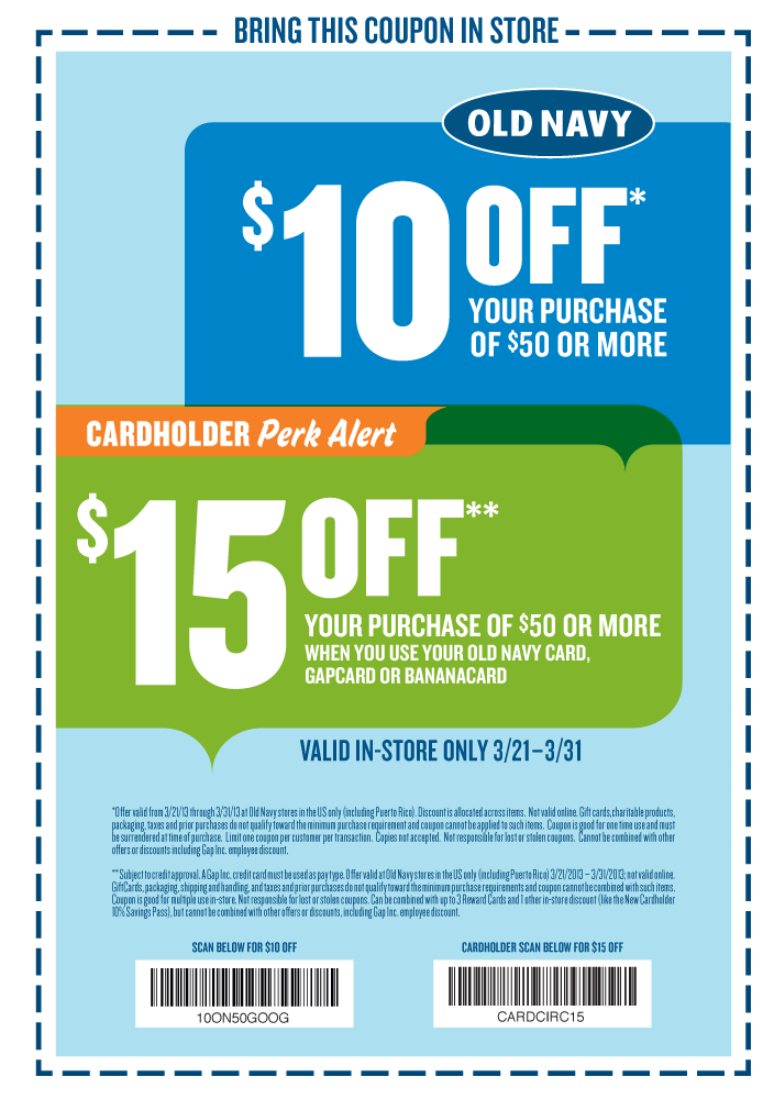 10 Off 50 At Old Navy Old Navy Coupon Coupon Apps Coupons