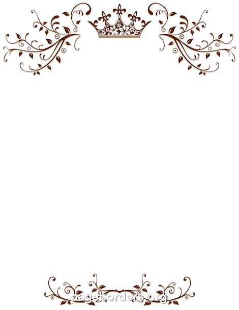 Royal Border Wedding Borders Wedding Invitations Borders Borders For Paper