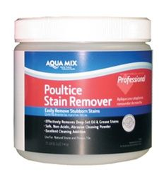 Aqua Mix Poultice Stain Remover Stonetooling Com Stain Remover Remove Grease Stain Remove Oil Stains