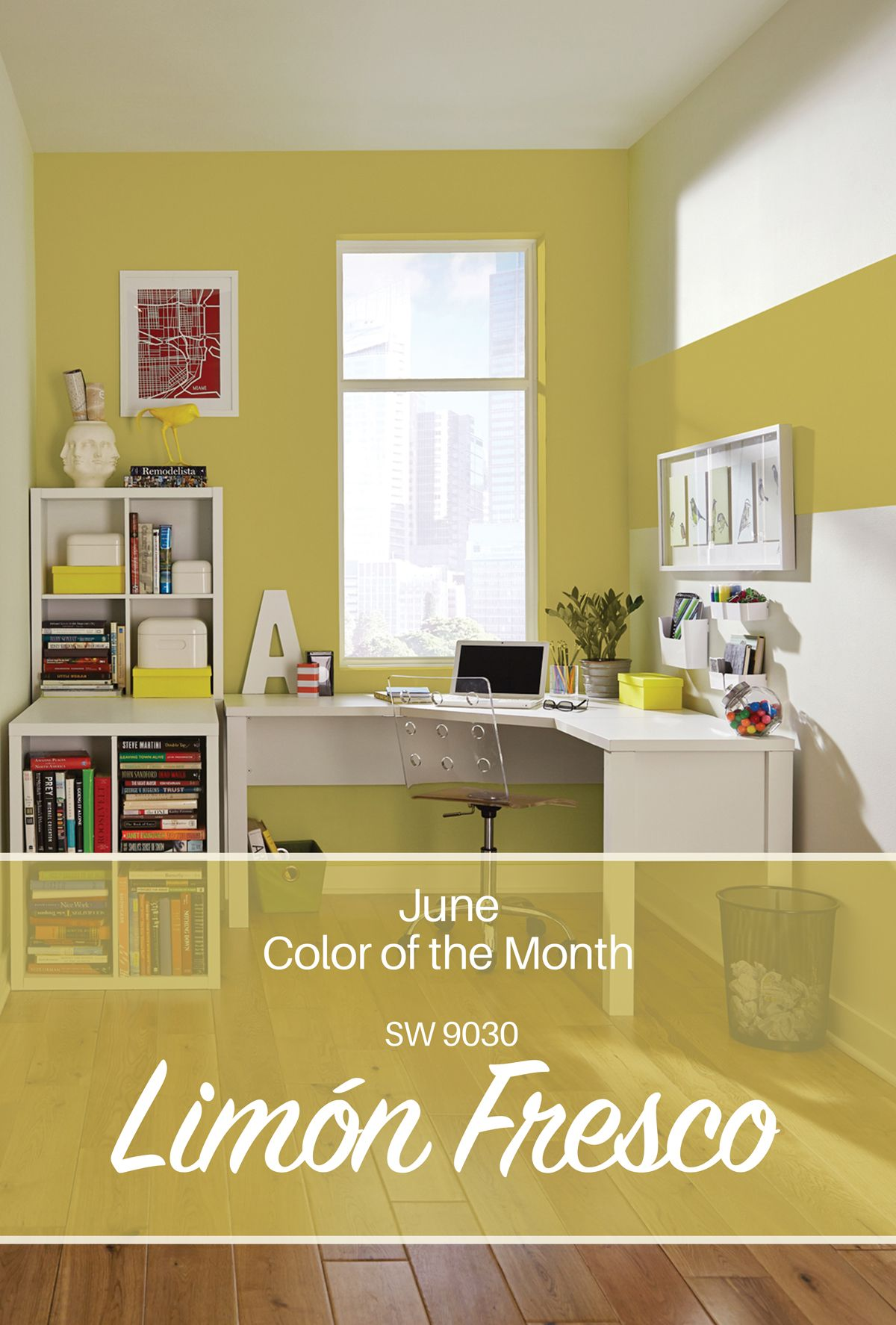 Sherwin-Williams\' June Color of the Month: Limón Fresco SW 9030 | A ...