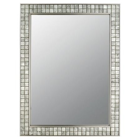 I Pinned This Quoizel Vetreo Wall Mirror From The Clear Winners