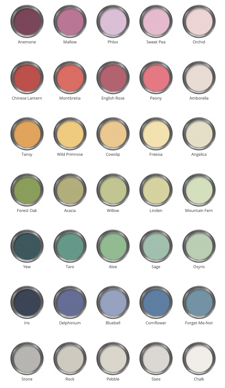 Brilliant new colour palette from the LIberty Design Team & Colour & Paint. View at http://www.colourandpaint.com/brand/liberty-paint/palette.html