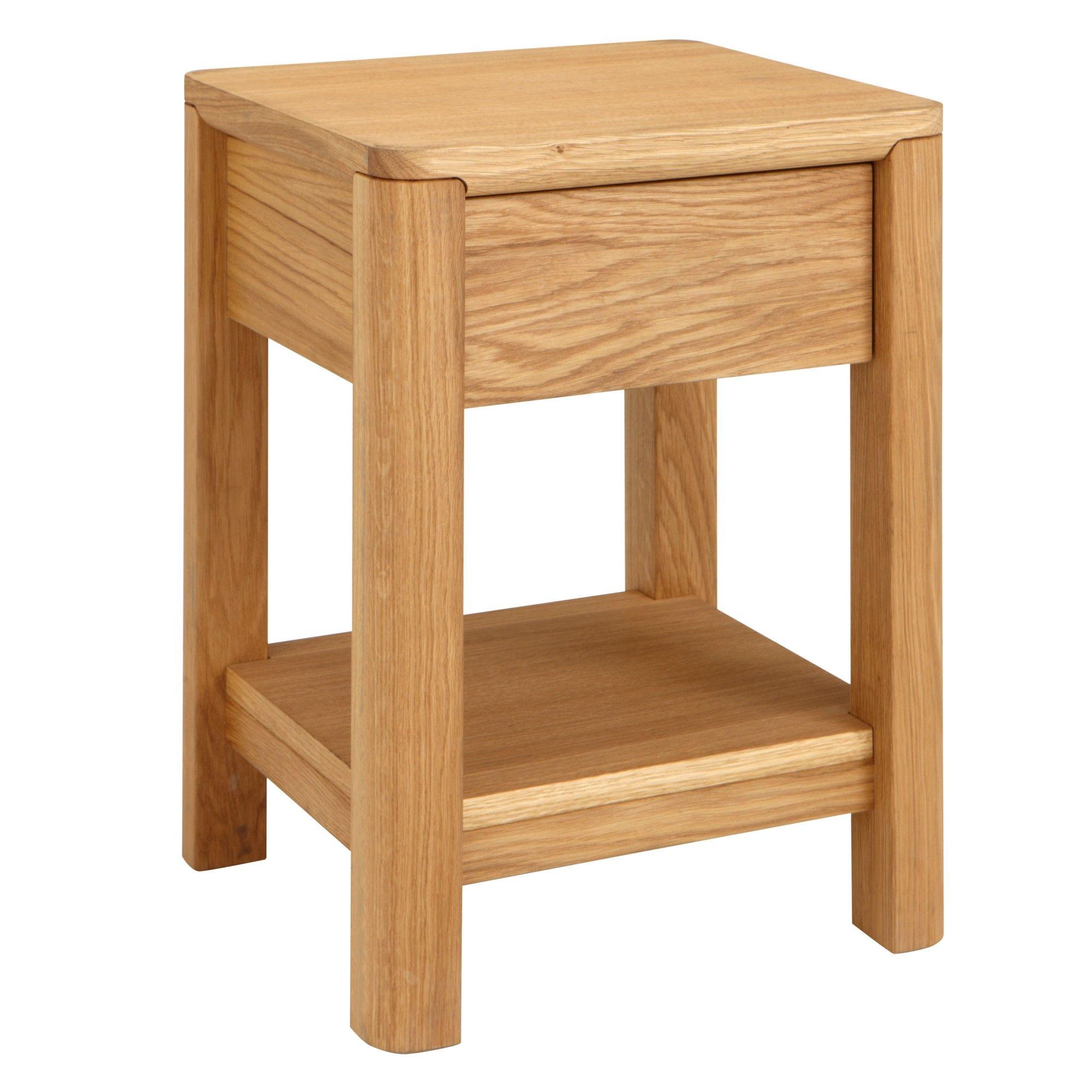 John Lewis Seymour Side Table, Oiled Oak