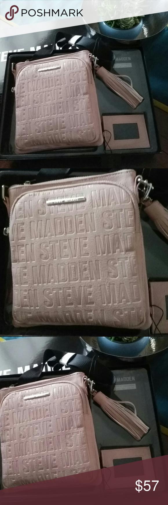 Blush Steve Madden Womens BGlam Crossbody