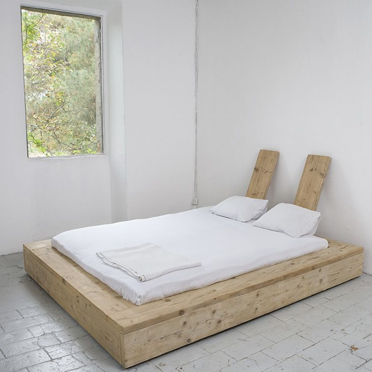 Minimalism in the bedroom, without putting the mattress on the floor ...