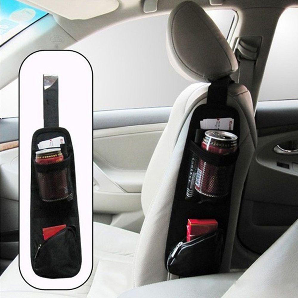 Universal Car Seat Side Back Storage Net Bag Phone Holder Pocket Organizer Ne Ebay Motors Parts Accessories Ca Car Storage Bag Diy Car Backseat Organizer