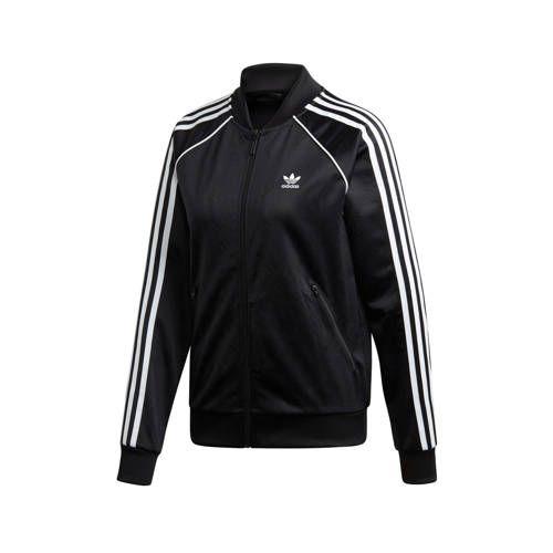Adicolor vest zwart in 2020 - Adidas originals, Mouwen en Zwart