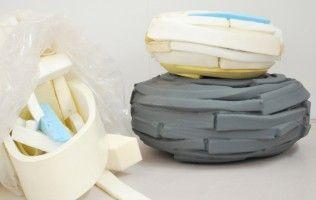 Studio Sjoerd Jonkers - Refoam Pouf - gemaakt van matrasschuim - Design