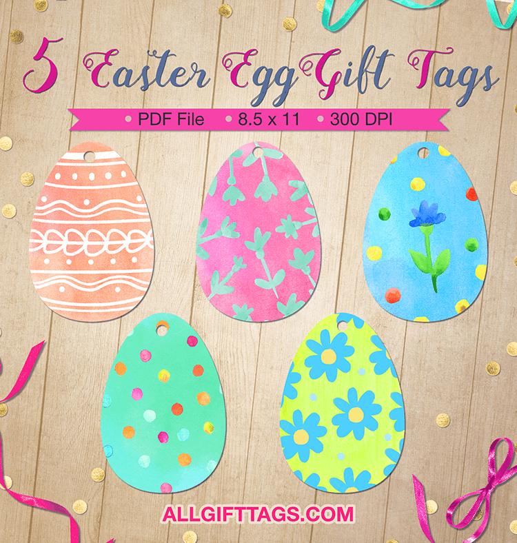 Printable easter egg gift tags get them in pdf format at http printable easter egg gift tags get them in pdf format at http negle Choice Image