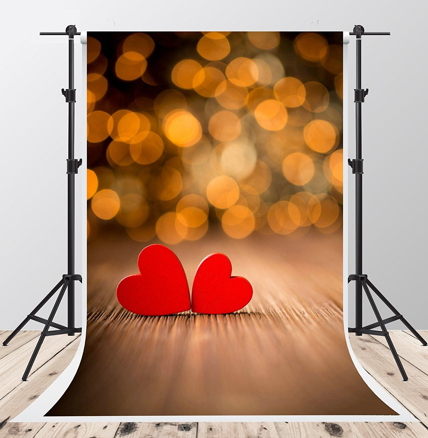 Valentine's Day Photography Backdrops Yellow