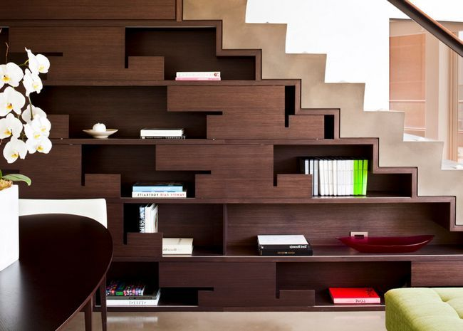 Best Modern Staircases The Coolest Ideas Under Stairs 640 x 480