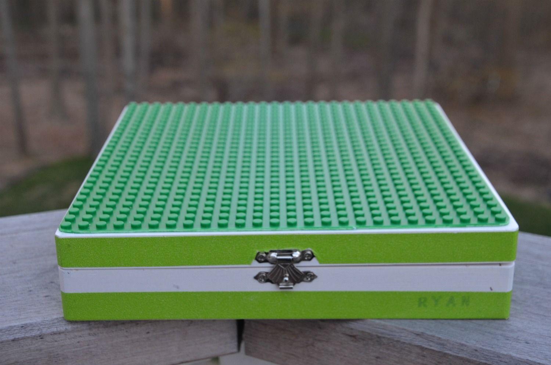 Diy Lego Travel Box A Little Bit Nerdy Pinterest