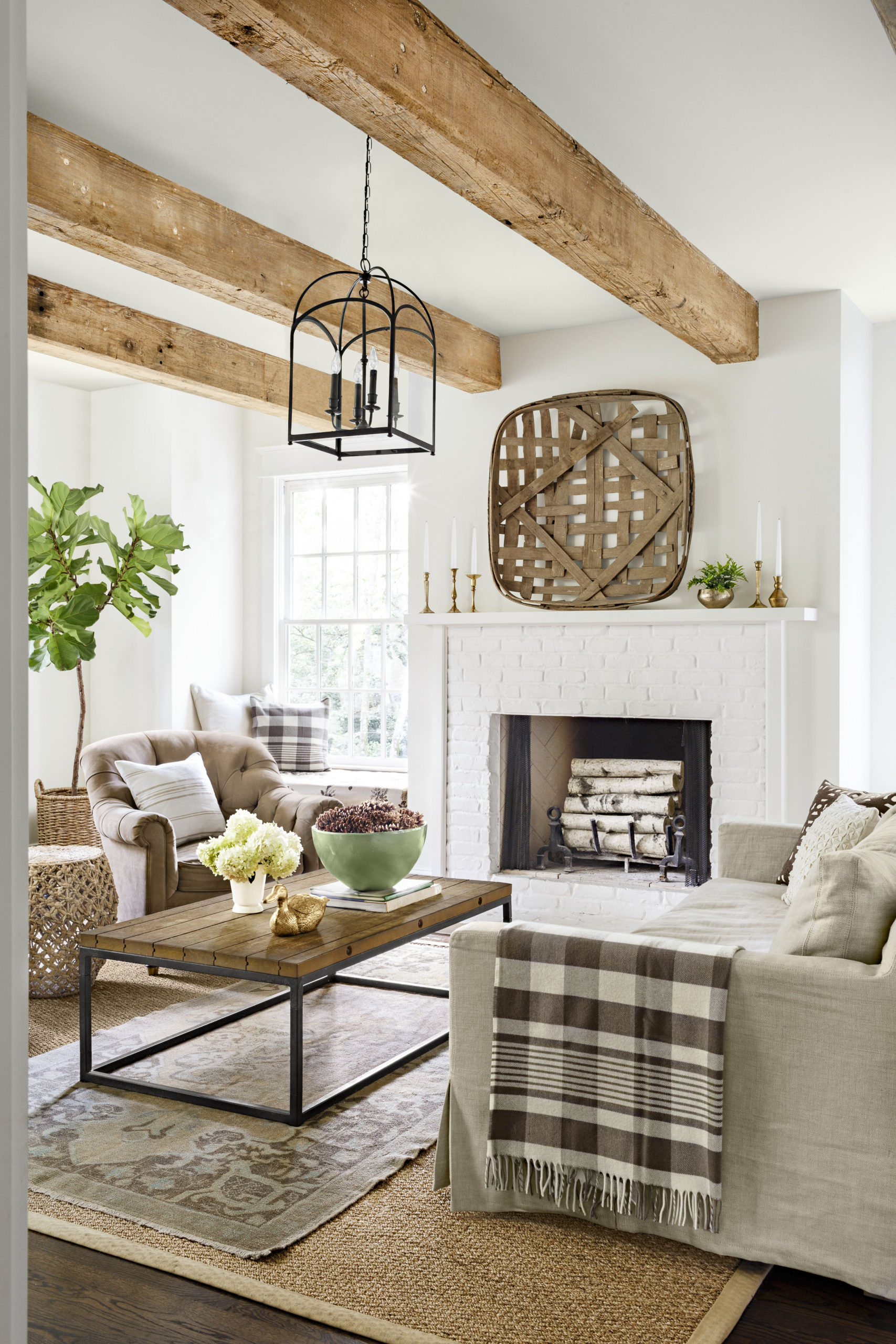 10+ Amazing Rustic Cozy Living Room
