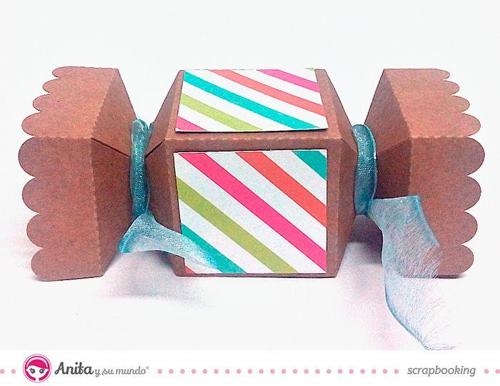 5 ideas para envolver regalos caja en forma de caramelo - Regalos envueltos originales ...