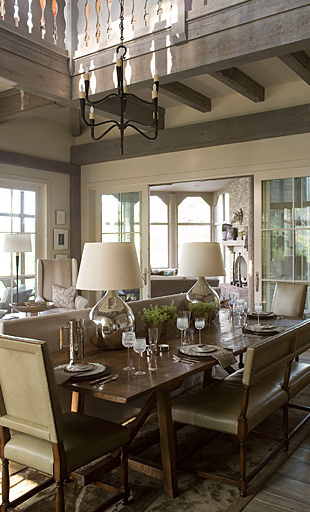 Beth Webb Interior Design Living Dining Room Interior Home