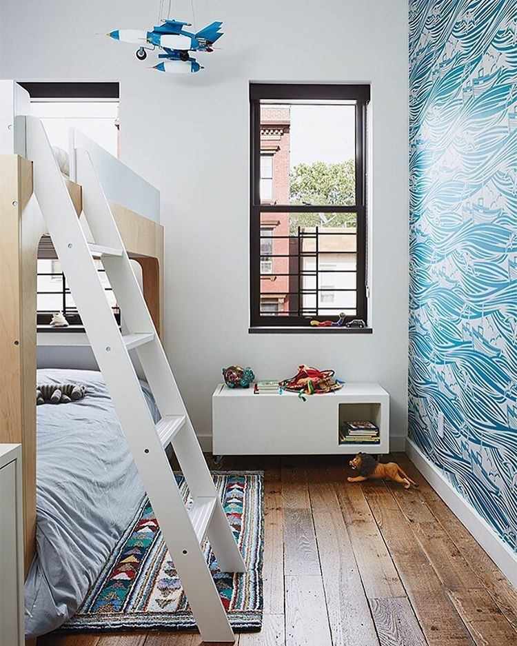 Magid selected lively Whitby wallpaper by Mini Moderns for