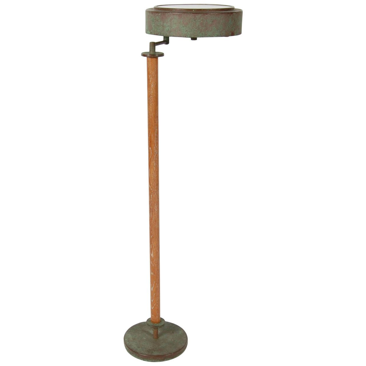 Early and Rare Walter Von Nessen Floor Lamp | From a unique collection of antique and modern floor lamps  at https://www.1stdibs.com/furniture/lighting/floor-lamps/