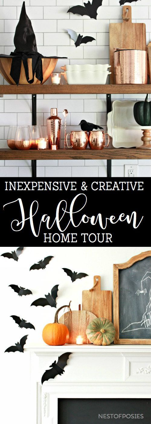 BATulous Halloween Home Tour Fall - Everything Fall, Autumn