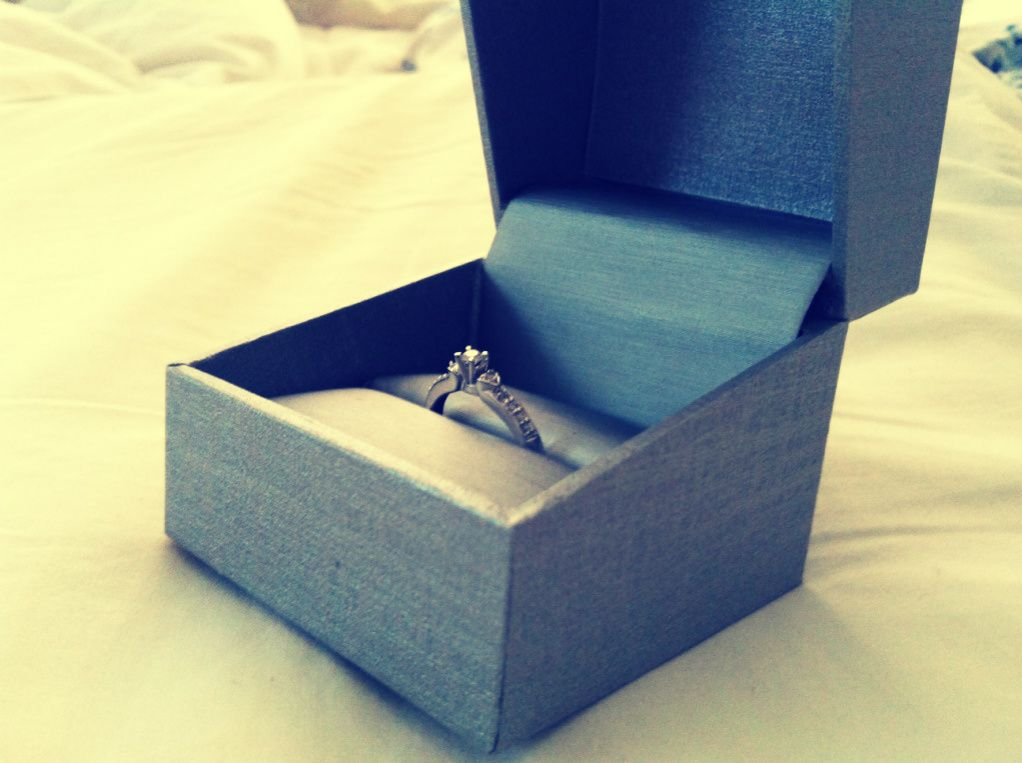 """This promise ring is one of the gifts i got my girlfriend ..."
