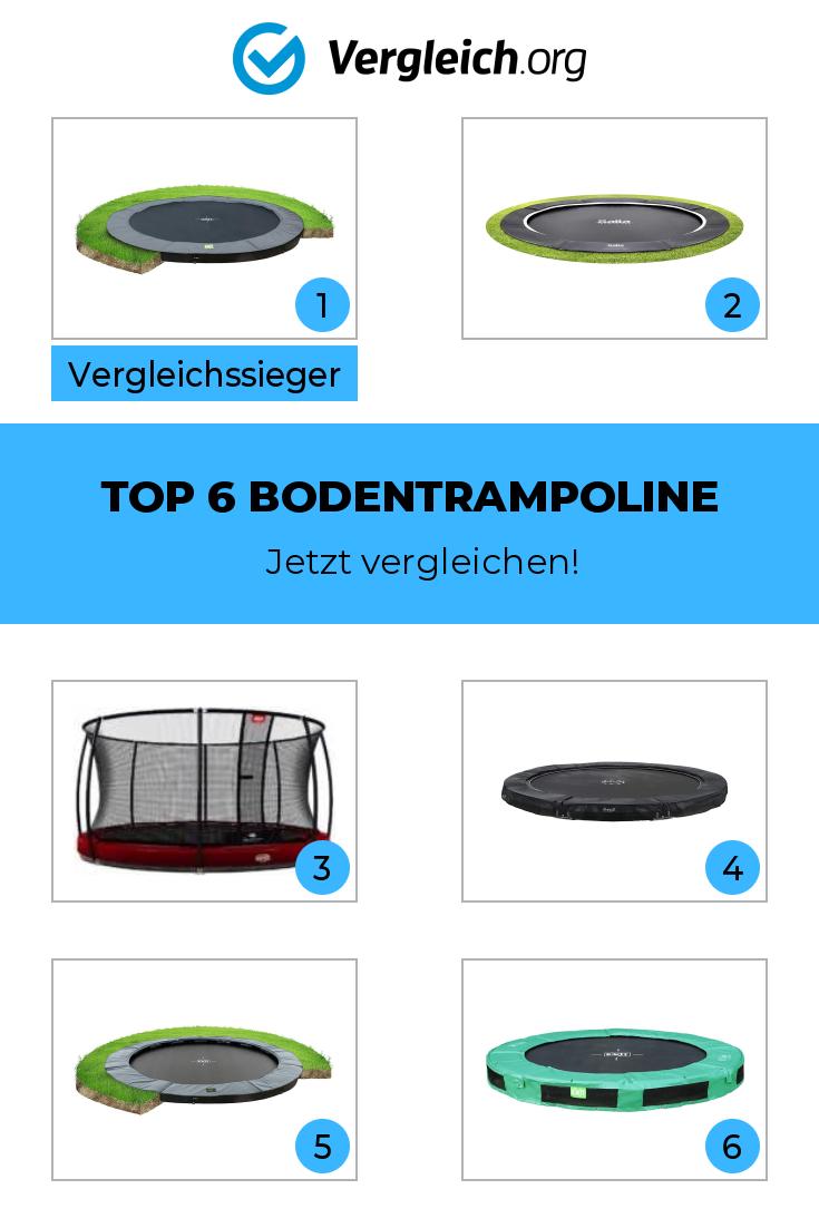Top 6 Bodentrampoline Im Test Bzw Vergleich In 2020 Bodentrampolin Trampolin Inground Trampolin