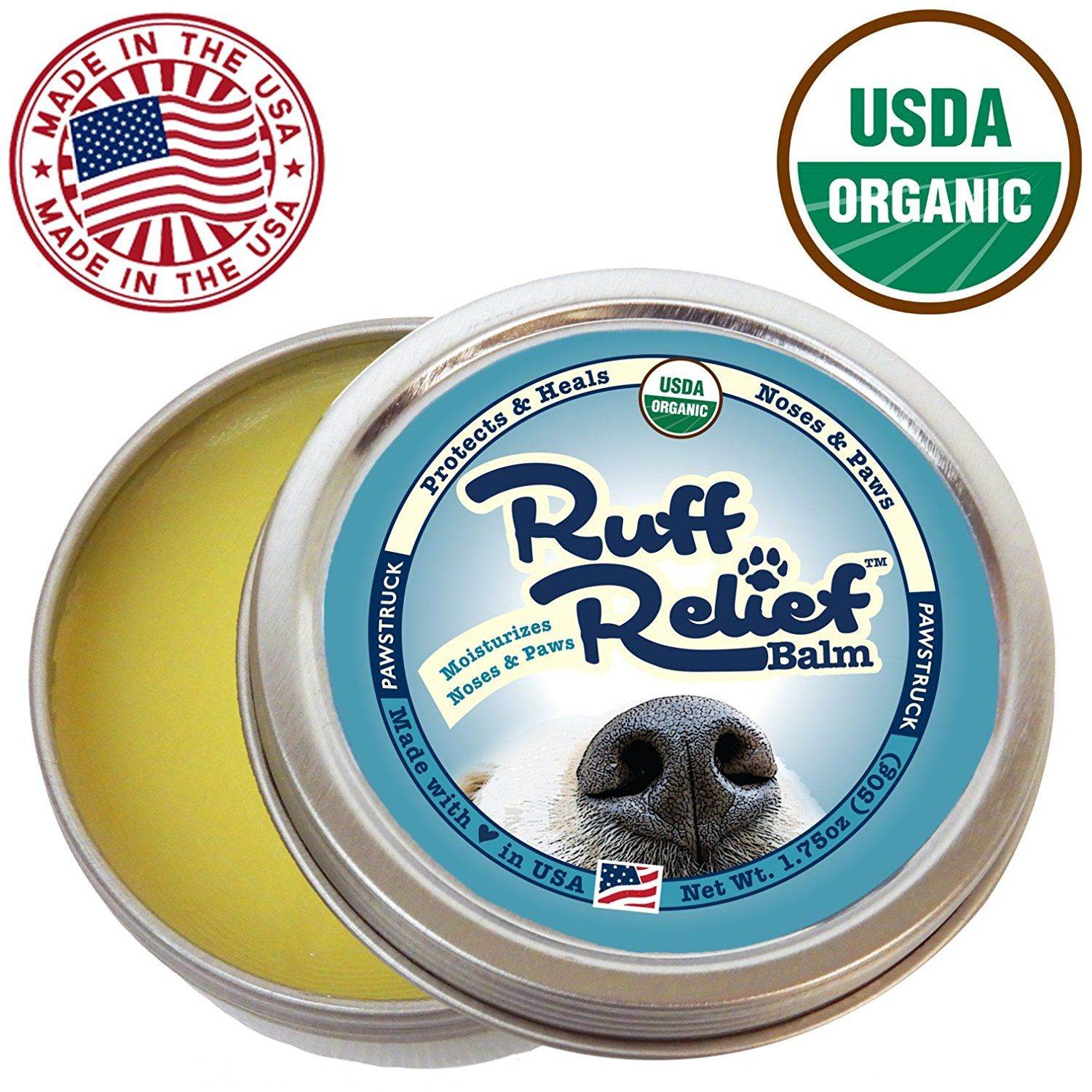 Ruff Relief Balm for Dogs Moisturize and Protect Nose