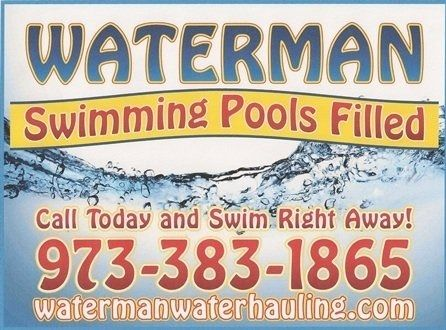 Swimming Pool Water Delivery Nj