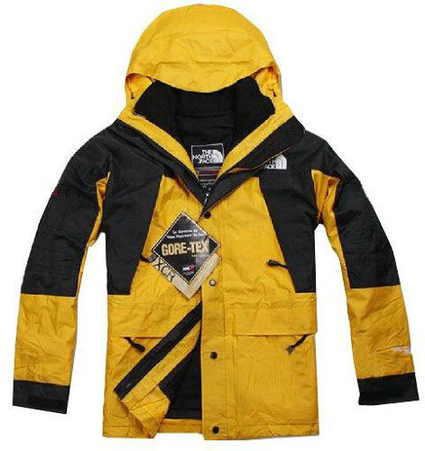 3fd15cc75 North Face 2012 Gore Tex Men Yellow Jacket | Projects to Try | North ...