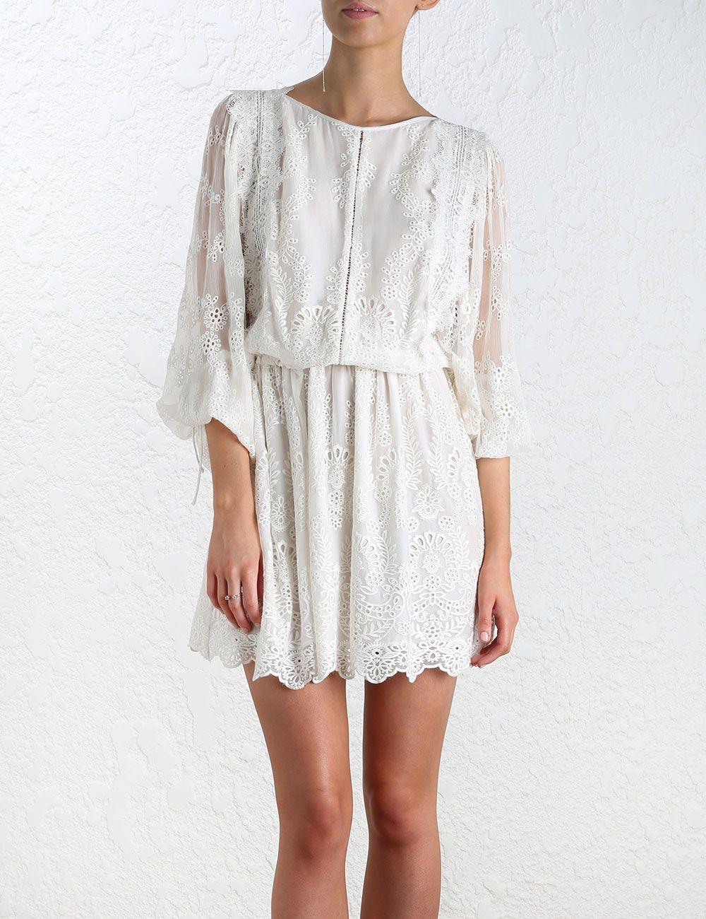 74370374f21 Image result for Zimmermann Women s White Alchemy Twine Dress ...