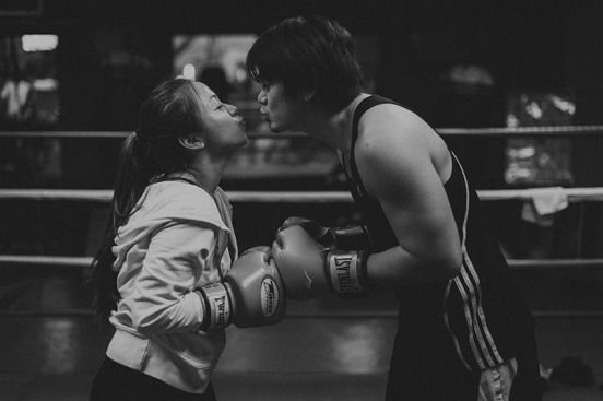 Ken Tetet Boxing Gym Exercise Fitness Engagement Prenup Pictures11 #boxing #boxing #couple