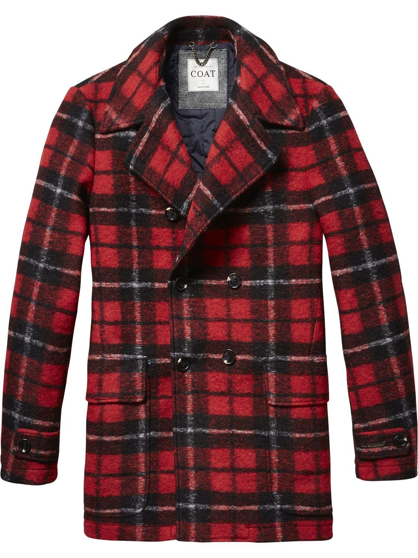 tailored caban jacket jackets men clothing at scotch. Black Bedroom Furniture Sets. Home Design Ideas