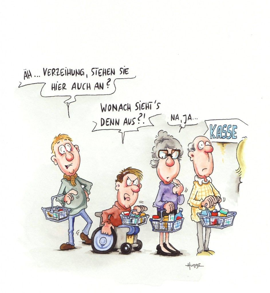 Behinderte Cartoons Es Darf Gelacht Werden Pz Pharmazeutische