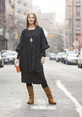 Tunic in cotton – Modern casual wear in New York – GUDRUN SJÖDÉN – Webshop, mail…