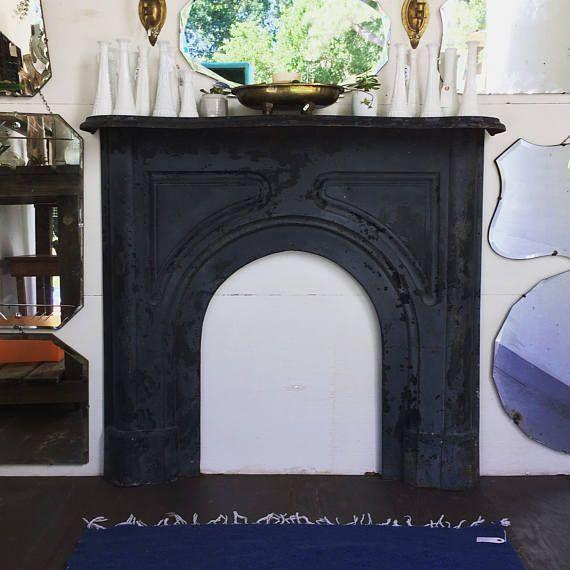 1800u0027s Cast Iron Fireplace Mantel Fireplace Surround
