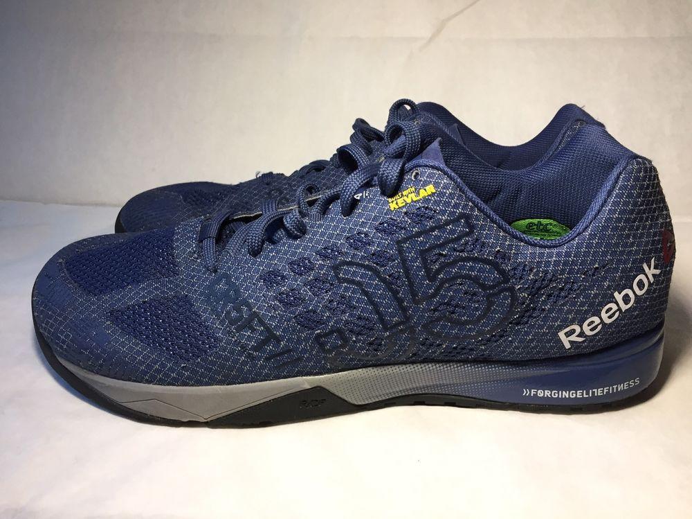 Mens Reebok CrossFit Nano 5 0 Athletic Training Shoes AQ9556 Midnight Blue  11 5