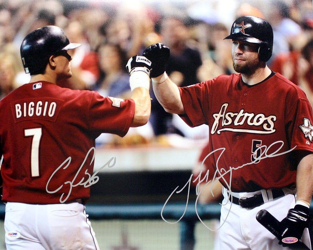 CRAIG BIGGIO JEFF BAGWELL Signed 8x10 Autographed Photo Houston Astros Reprint