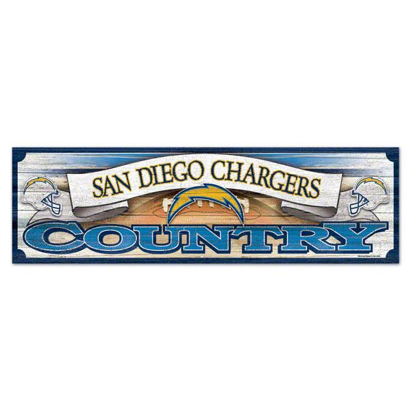 San Diego Chargers 9x30 Wood Sign Sorry Terri, I was feeling Bullied by Your Cowboys Pins LOL