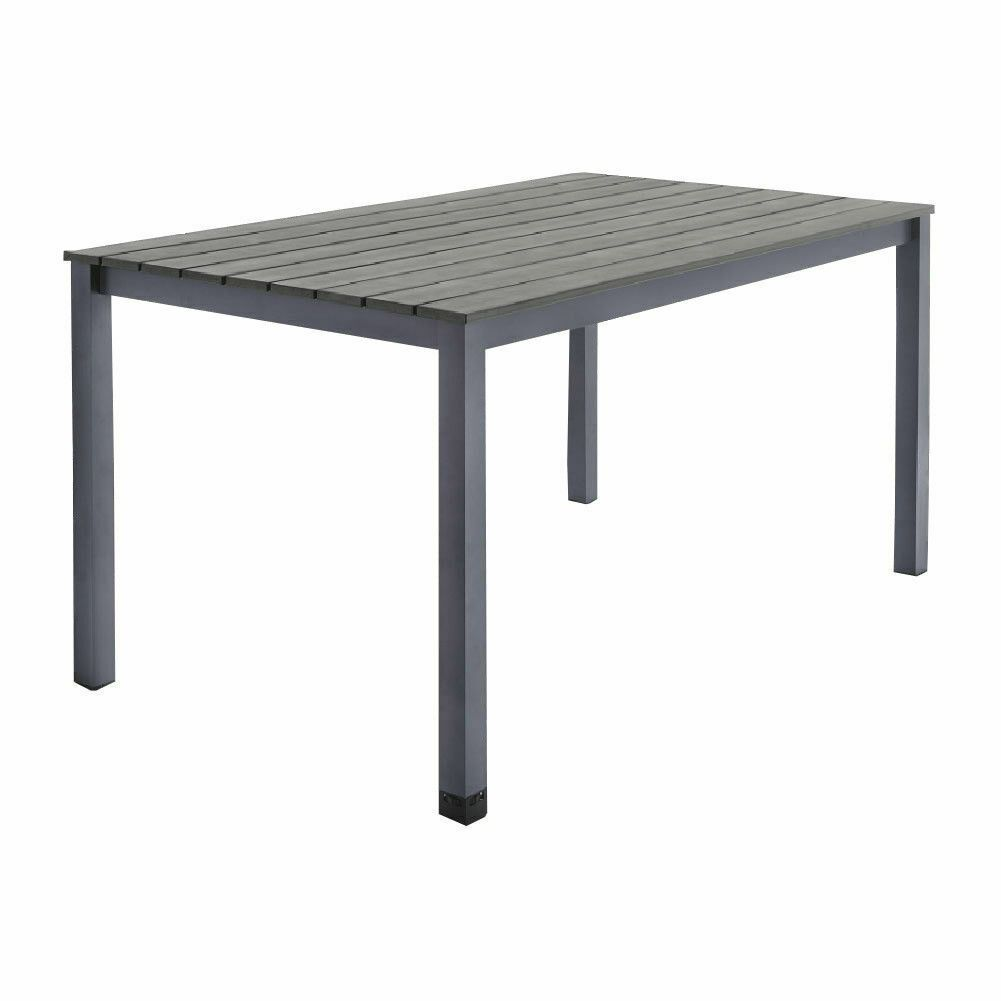 Teak Massivholz Tisch Carlton Garten Geolt 140 X 80 Cm