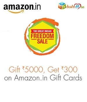 Gift Rs.5,000, Get Rs.300 on Amazon.in Gift Cards   Sales ...